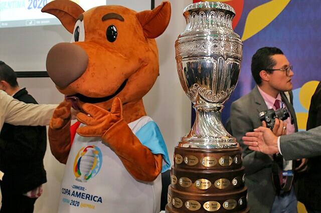 332746_Mascota oficial y Copa América 2020