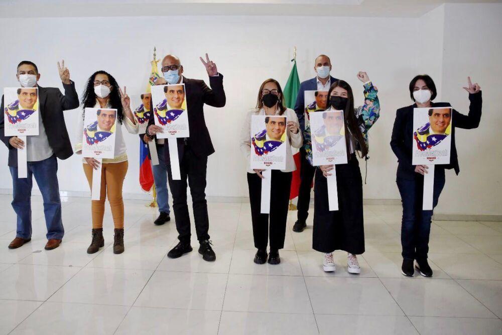 Delegación venezolana pide liberación de Alex Saab