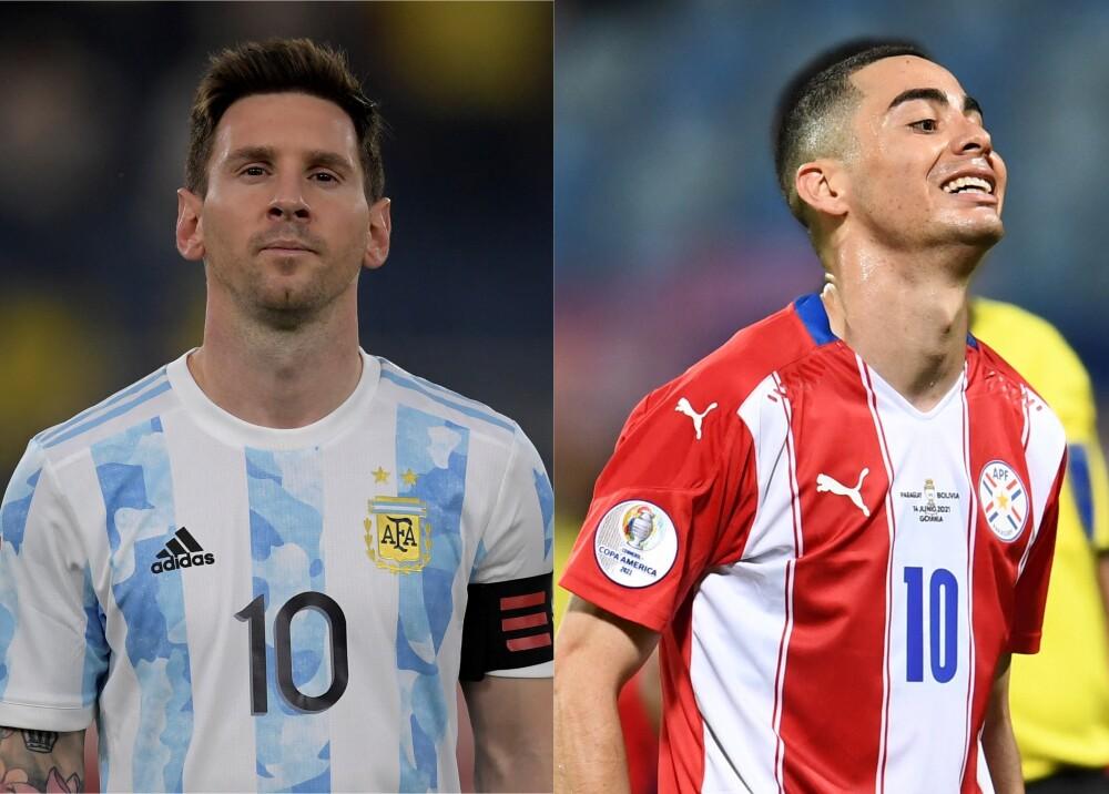 Selecciones de Argentina y Paraguay Foto AFP.jpg