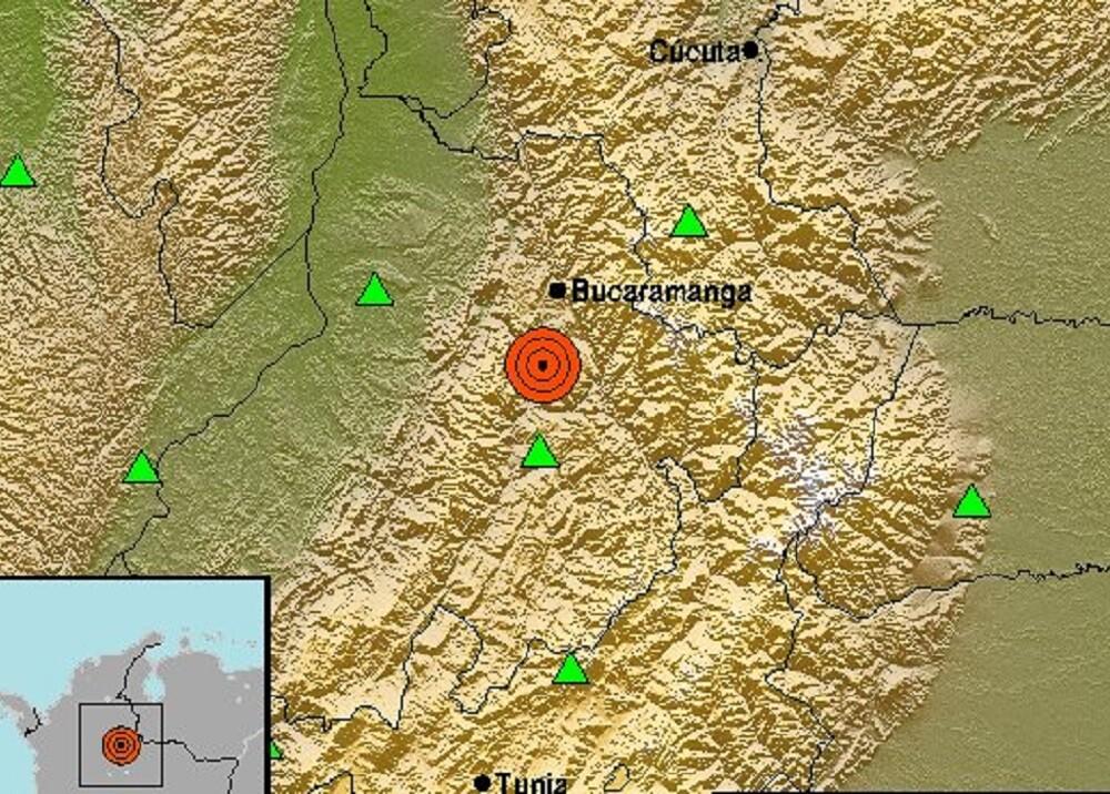 335907_BLU Radio. Sismo en Santander // Foto: Servicio Geológico Colombiano