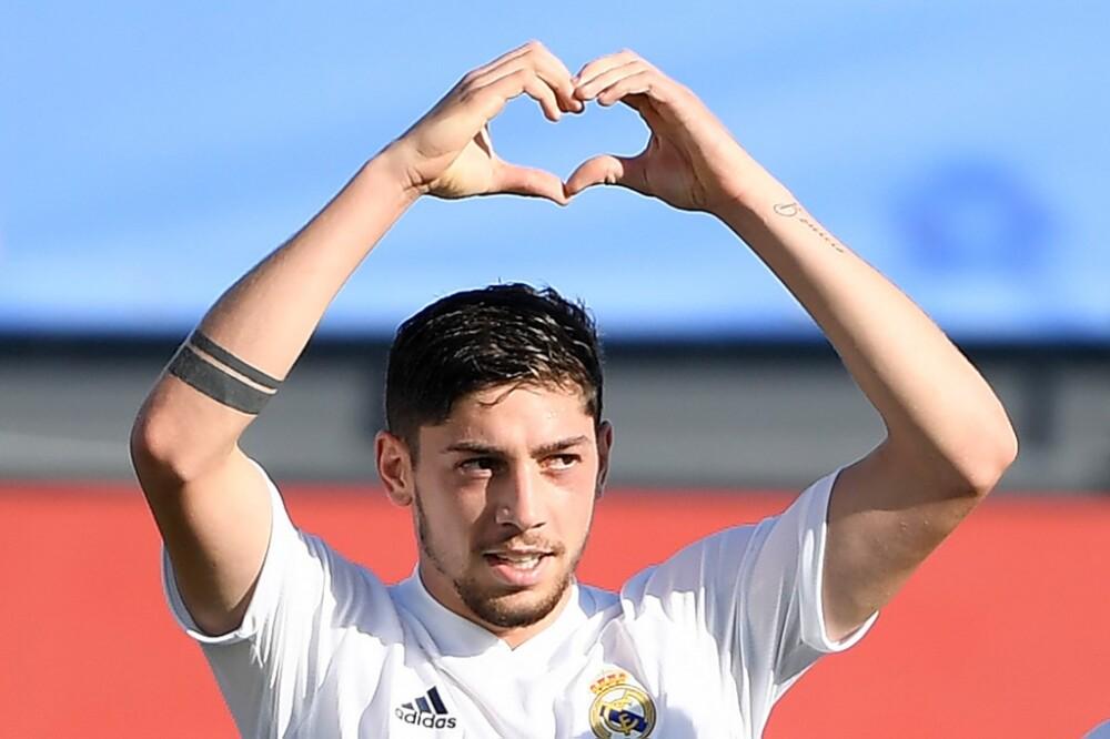 Federico Valverde gol Real m