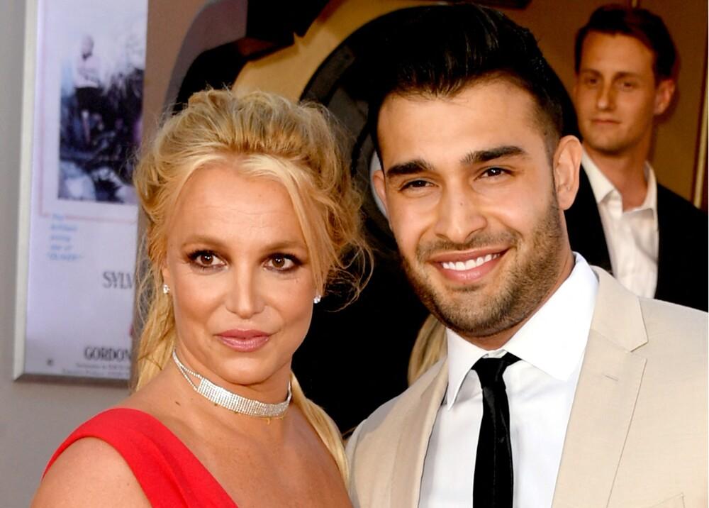 Britney Spears y Sam Asghari Foto AFP.jpg