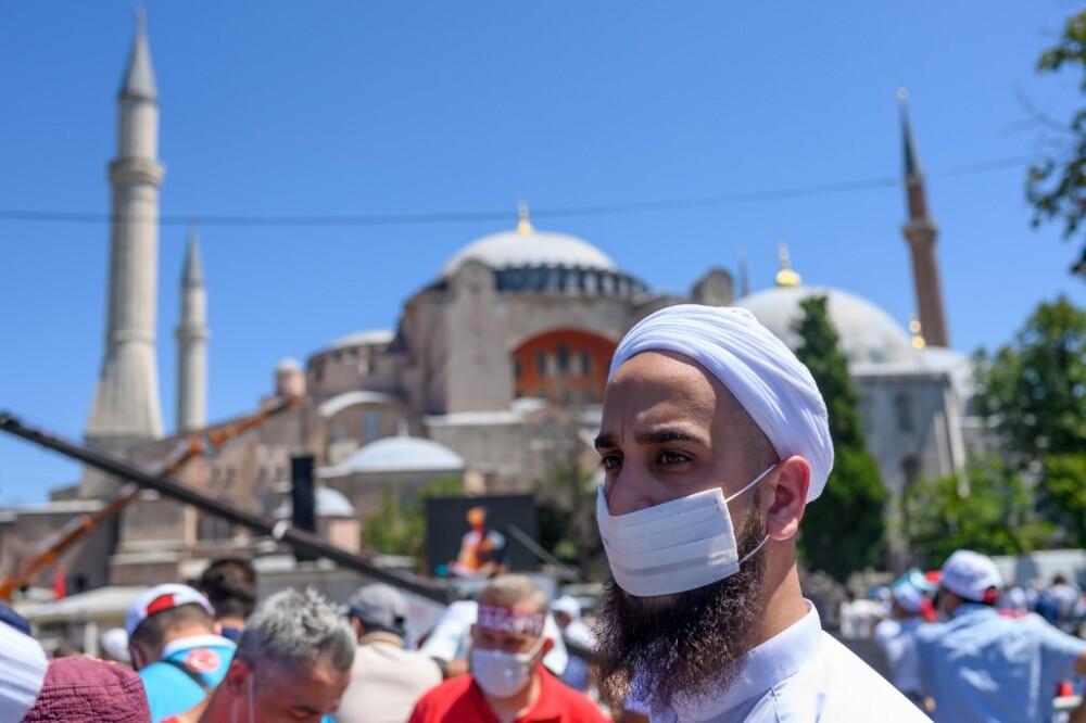 372074_Santa Sofía Turquía / AFP