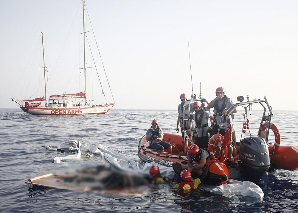 311293_Foto: Naufragio referencia / AFP