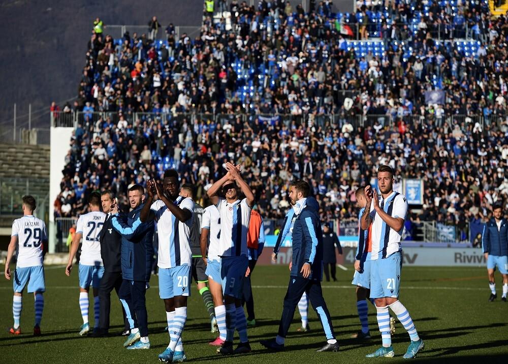 352114_BLU Radio. Lazio ante el Brescia / Foto: AFP