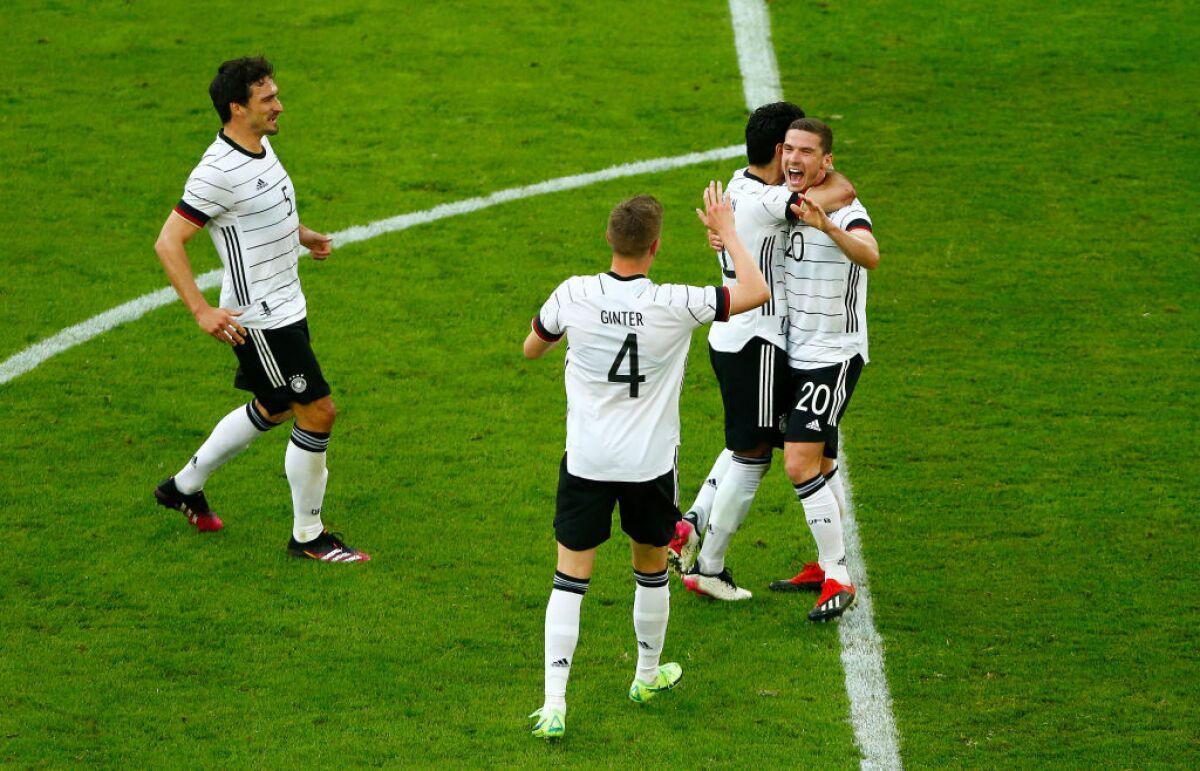 Alemania, una aplanadora a una semana de la Eurocopa: goleó 7-1 a Letonia,  en partido amistoso