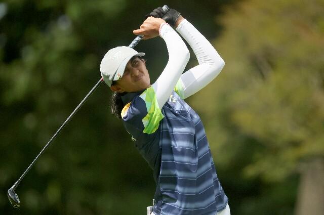 Aditi Ashok, en los Juegos Olímpicos de Tokio