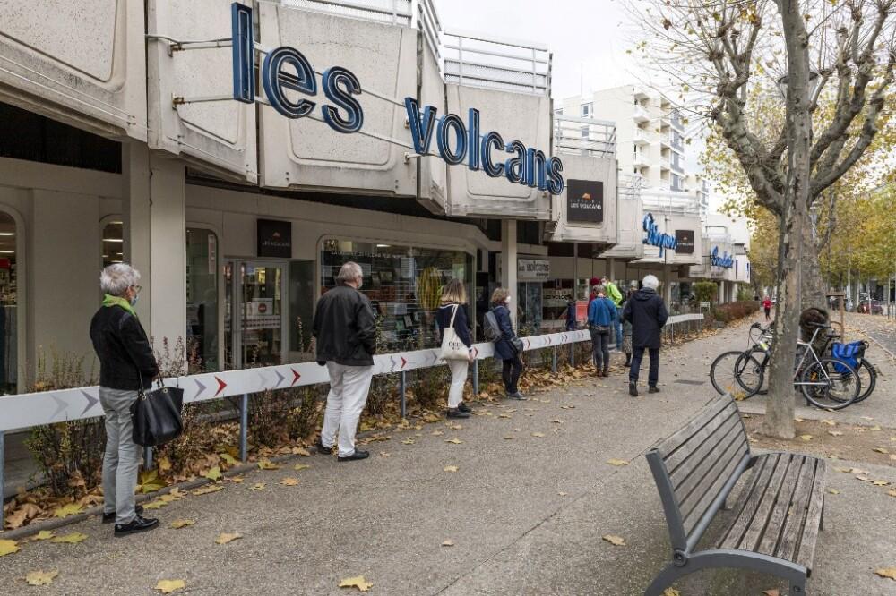 Distanciamiento social en Francia