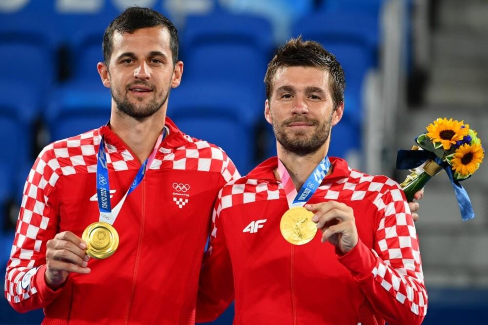 Nikola Mektic y Mate Pavic