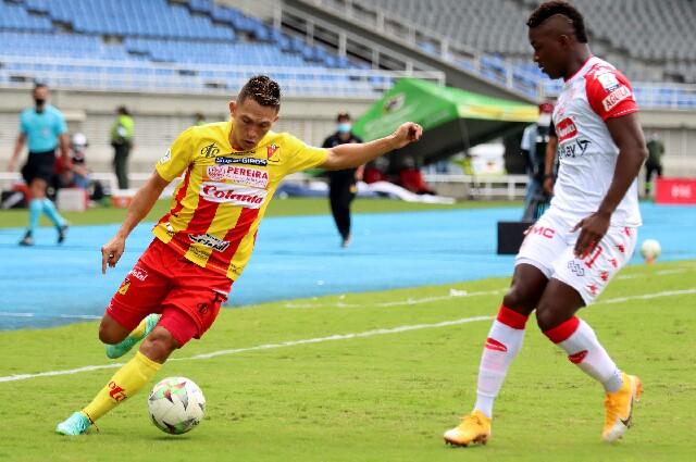 Pereira contra Santa Fe, en la Liga colombiana