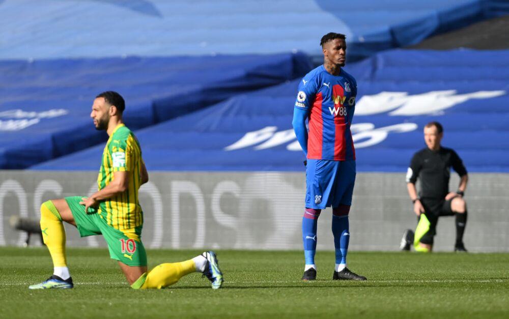 Wilfried Zaha - Crystal Palace v West Bromwich Albion - Premier League