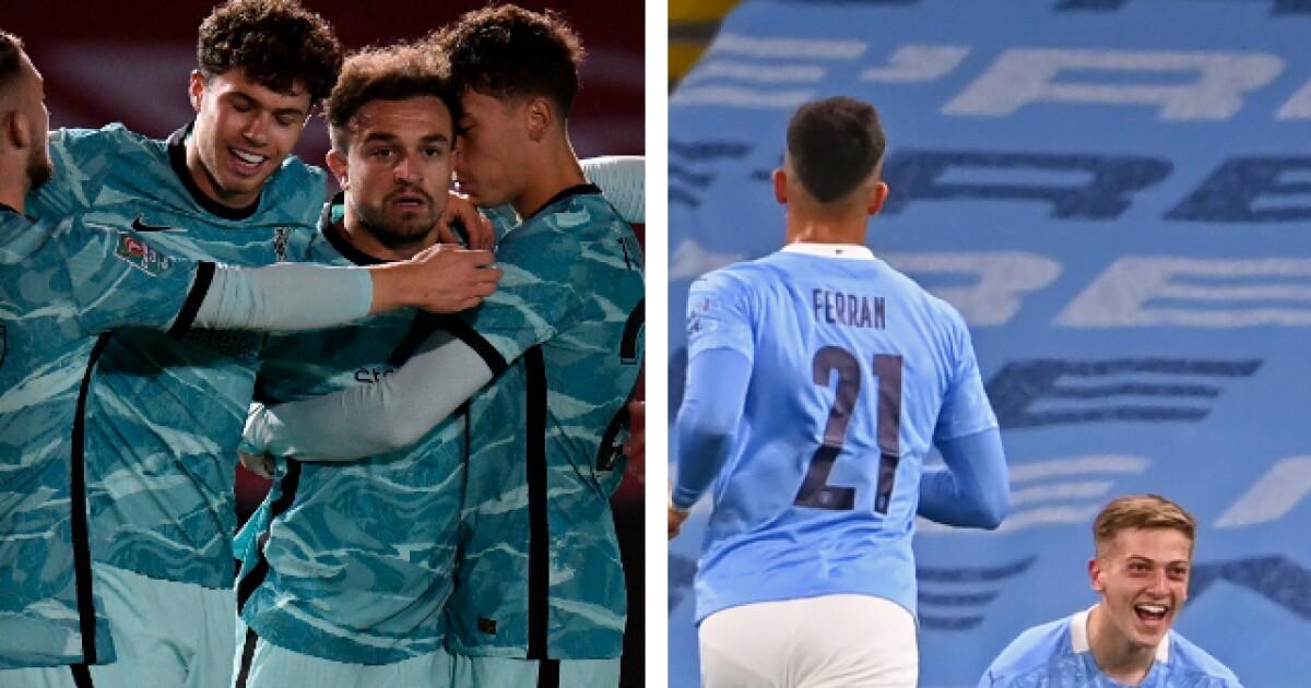 Liverpool goleó y el Manchester City sufrió: resumen de la copa de la liga de Inglaterra