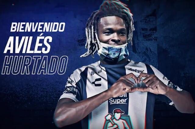 Avilés Hurtado, nuevo jugador del Pachuca