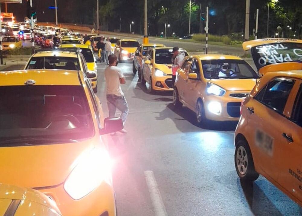 Paro de taxistas