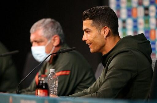 Cristiano Ronaldo en rueda de prensa
