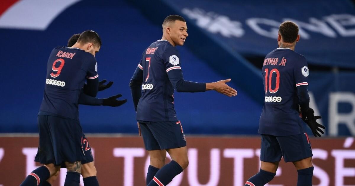 ¡Sin piedad!: el PSG goleó 4-0 al Montpellier y seguirá líder en la Liga Francesa