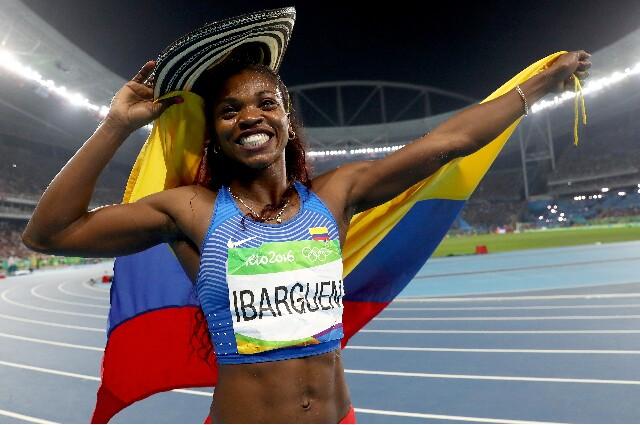 Caterine Ibargüen, ganadora de decenas de medallas en el mundo