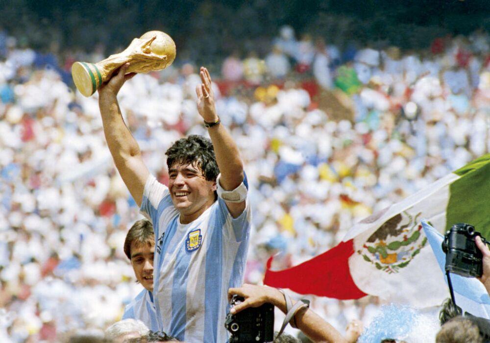 Diego Maradona, campeón México 1986