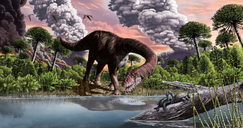 Dinosaurios, reconstrucción artística