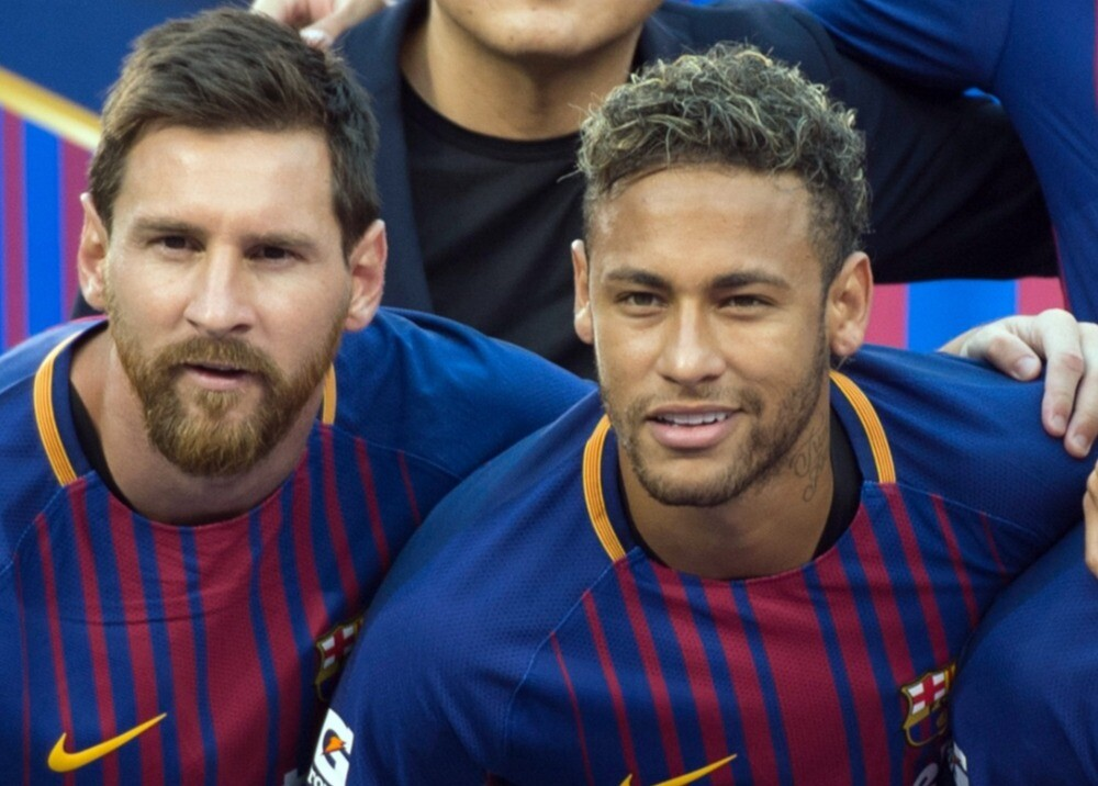 375614_Messi y Neymar / AFP