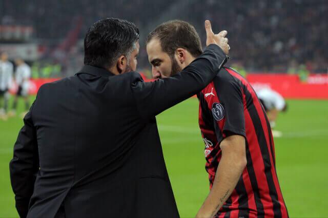 294996_Gennaro Gattuso y Gonzalo Higuaín