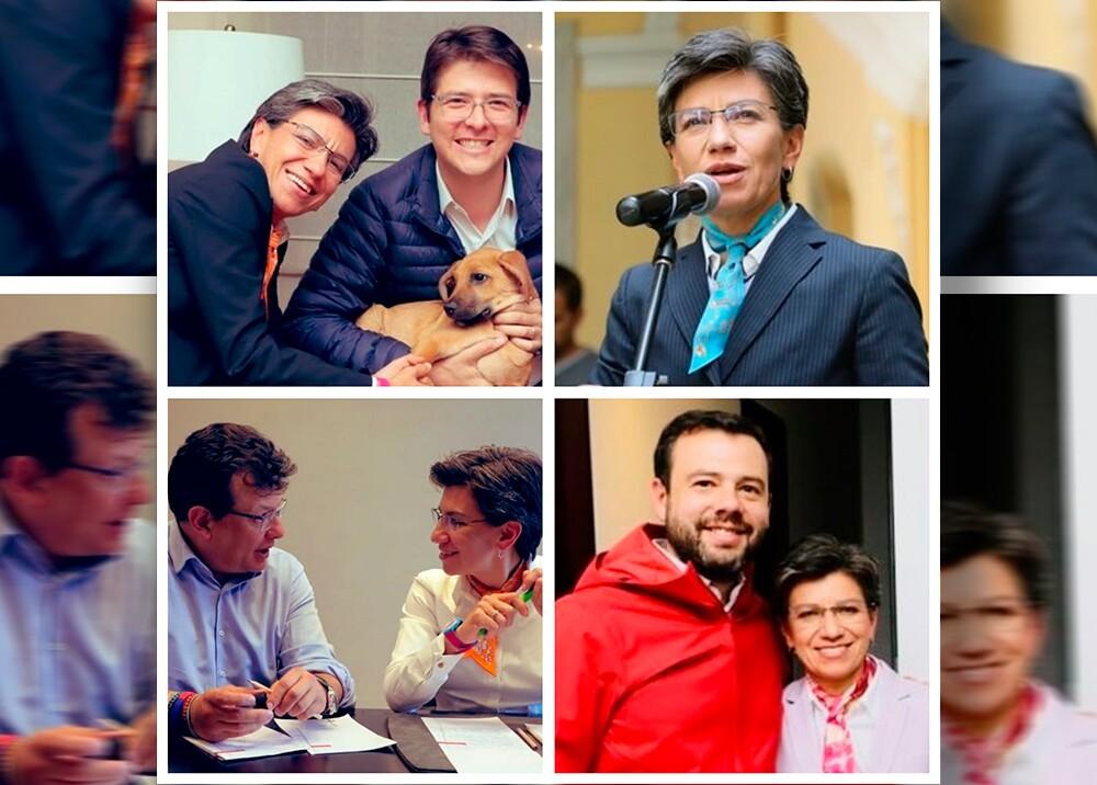 347405_Claudia López se reúne con excontrincantes // Fotos: Twitter @ClaudiaLopez