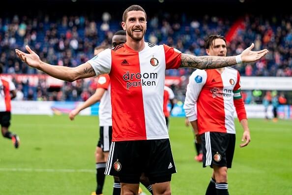 "Marcos Senesi Feyenoord - ADO Den Haag"""