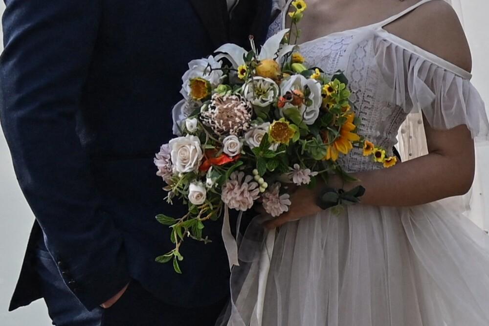Pareja se casó en un hospital