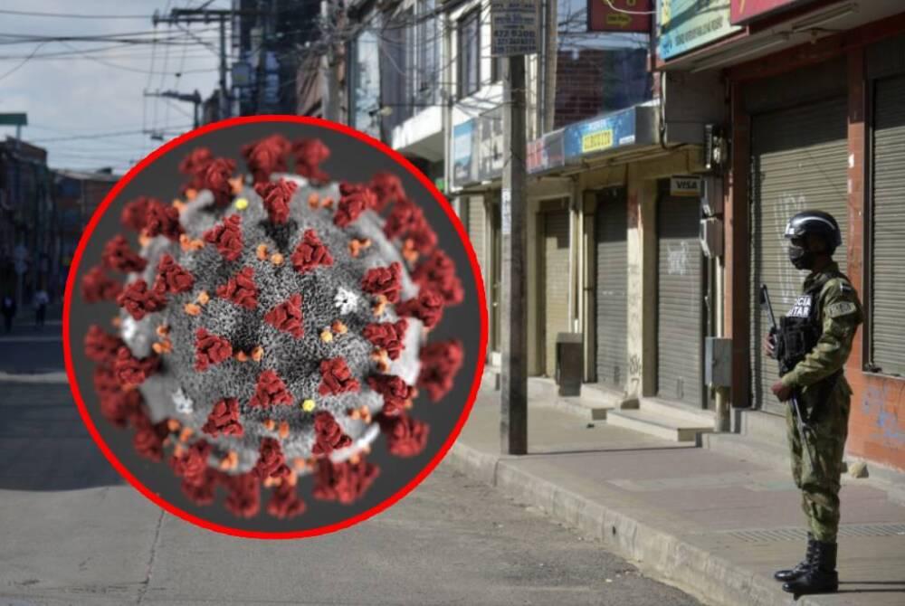 Medidas de control en Bogotá durante la pandemia