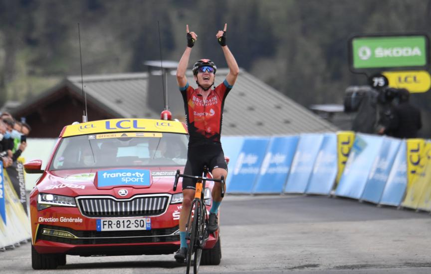 Mark Padun fue el ganador de la etapa 7 del Critérium del Dauphiné.