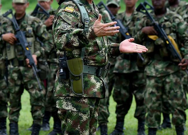 363363_Militares_Ejercito Colombia // Foto: AFP