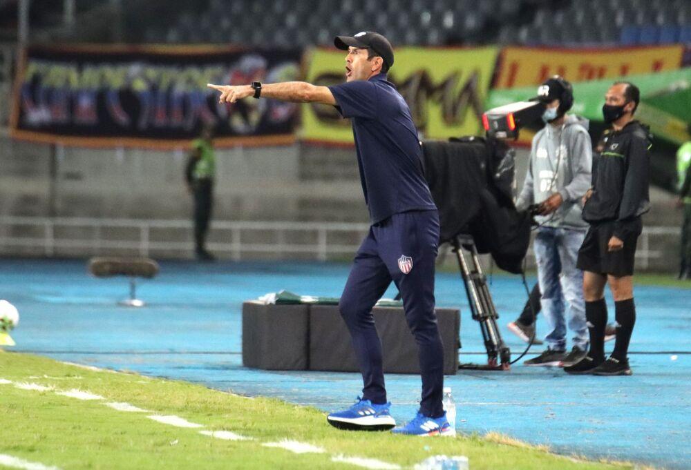 Arturo Reyes, entrenador del Junior. Dimayor.jpeg