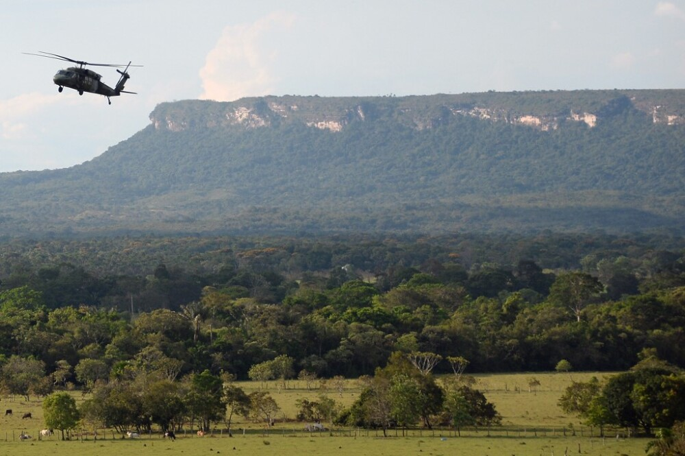 371719_Helicóptero Black Hawk // Foto: AFP