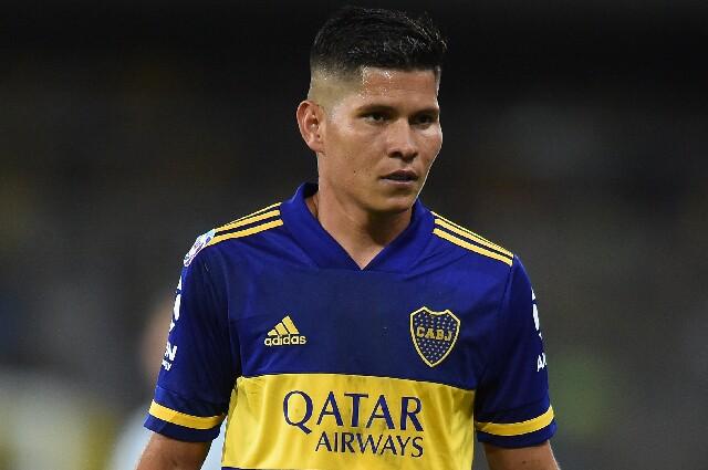 Jorman Campuzano, en Boca Juniors
