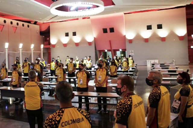 Delegación colombiana en los Juegos Olímpicos