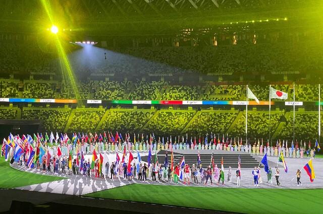 Ceremonia de clausura de los Juegos Olímpicos Tokio 2020