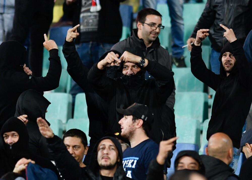 345893_Insultos racistas en partido Bulgaria - Inglaterra // Foto: AFP