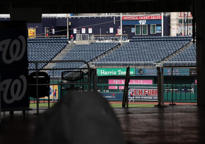 Nacionales y Mets no pudieron jugar su serie de Grandes Ligas por culpa del coronavirus.