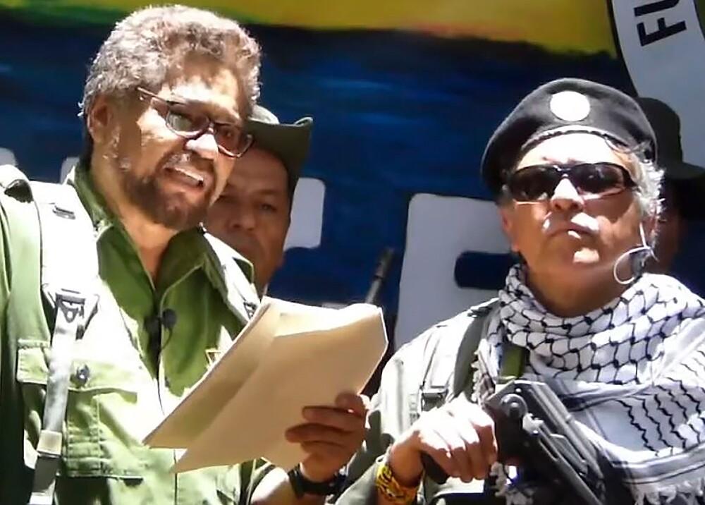 345540_'Iván Márquez' y 'Santrich' // Foto: AFP