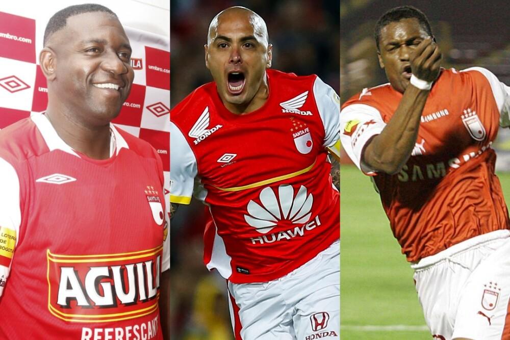 Adolfo Valencia, Omar Pérez y Léider Preciado