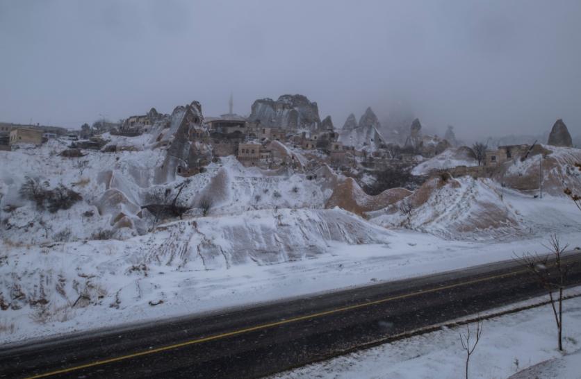 La etapa 1 del Tour de Turquía fue aplazada por la nieve.