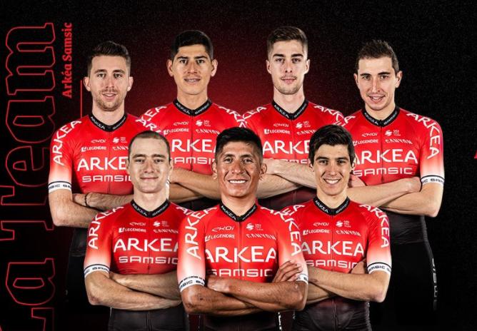 Nairo Quintana liderará al Arkea en el Tour de los Alpes Marítimos