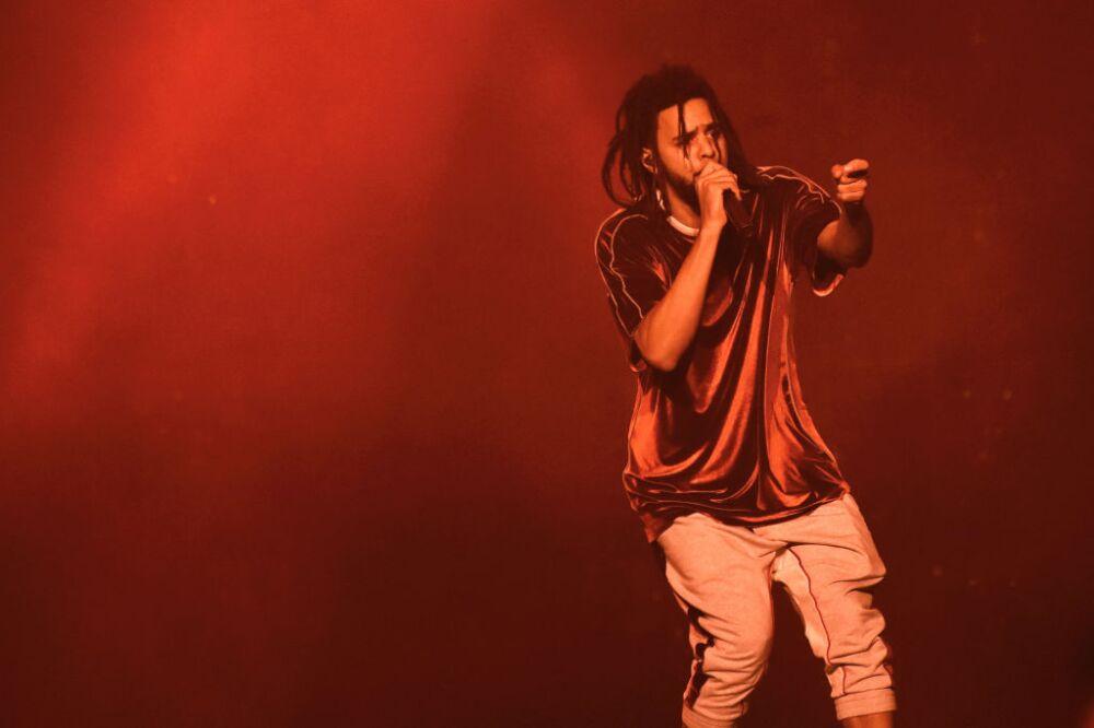 J. Cole en concierto - New York, NY