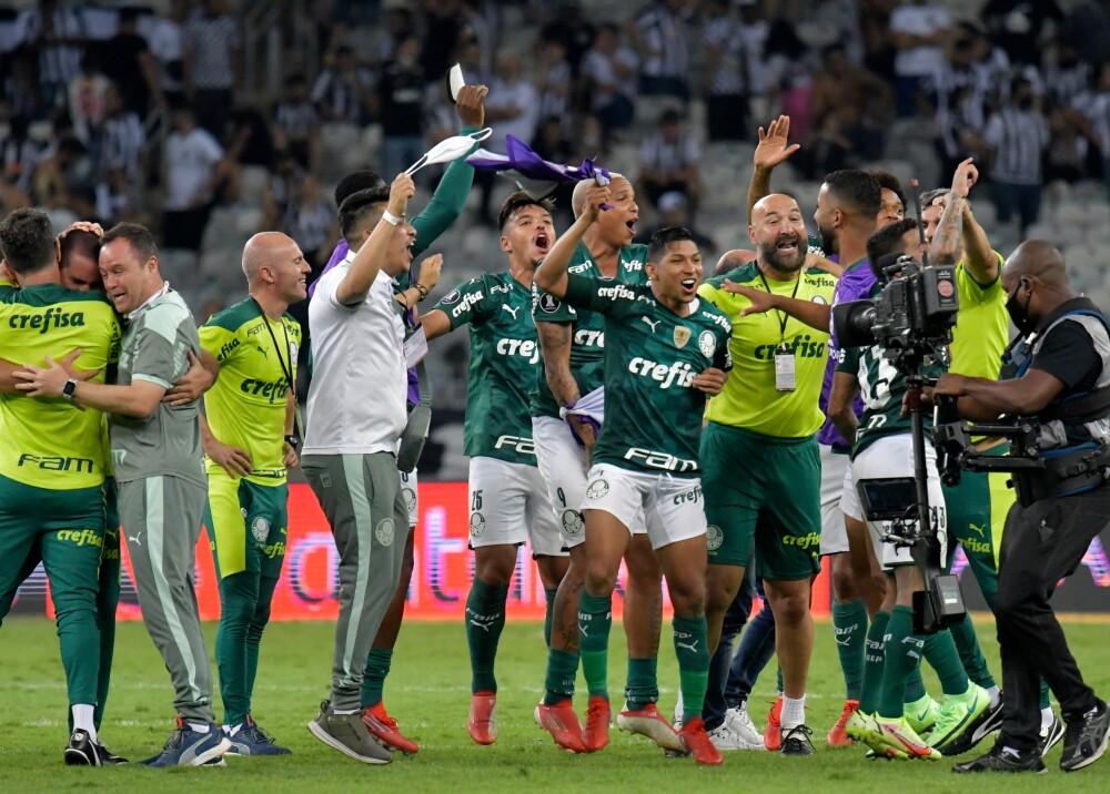 Palmeiras empató con Mineiro y se clasificó a la final Foto AFP.jpg