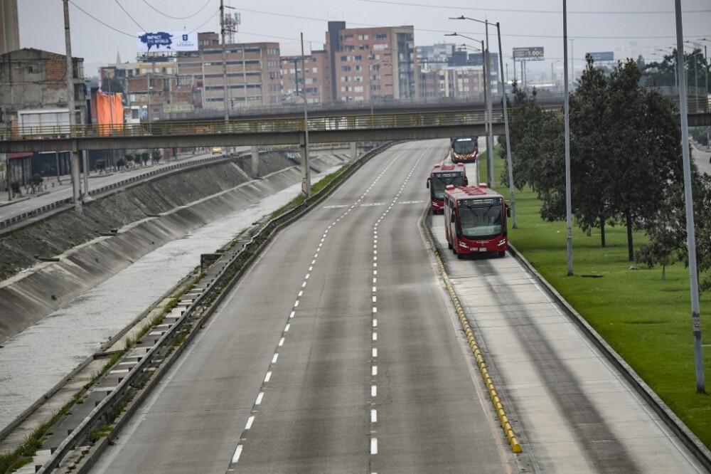 Confinamiento en Bogotá