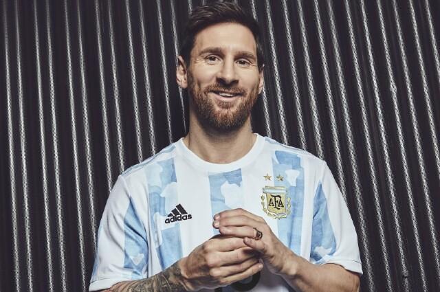 Lionel Messi camiseta Argentina