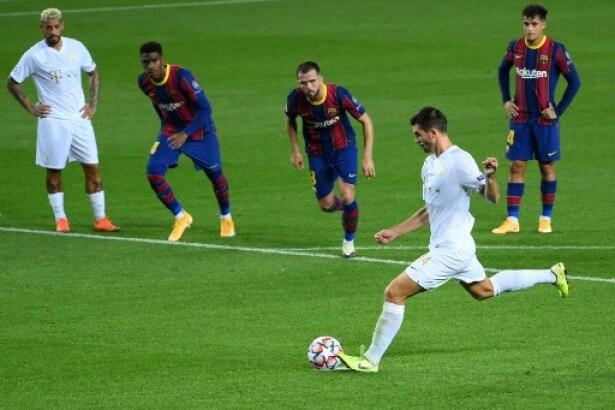 Vea El Gol De Irai Kharatin Hoy Barcelona Vs Ferencvaros En La Champions League