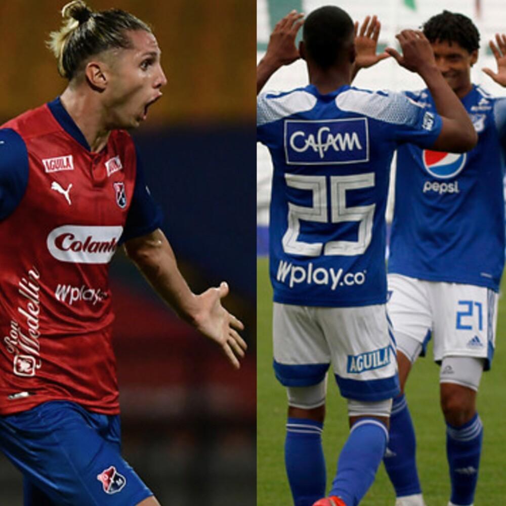 Medellín vs Millonarios