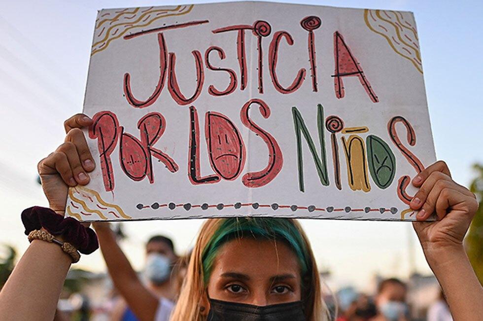 Marchas contra abusos en Panamá