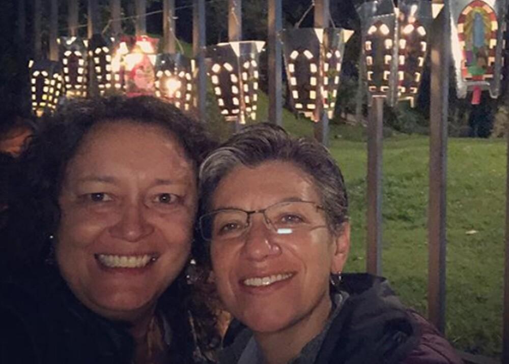 20111_Foto del matrimonio de Claudia López y Angélica Lozano - Foto Instagram